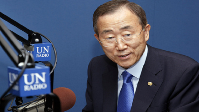 Secretary-General Ban Ki-moon's message to the Central African Republic