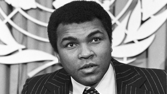Press Conference by Muhammad Ali