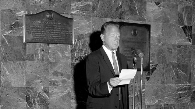 Dag Hammarskjöld Message on Refugees