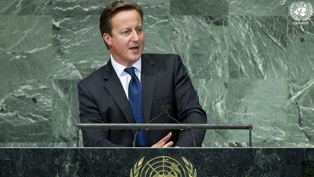 Prime Minister of the United Kingdom of Great Britain and Northern Ireland addresses the General Assembly