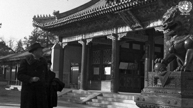 Dag Hammarskjold's Mission to Peiping, China