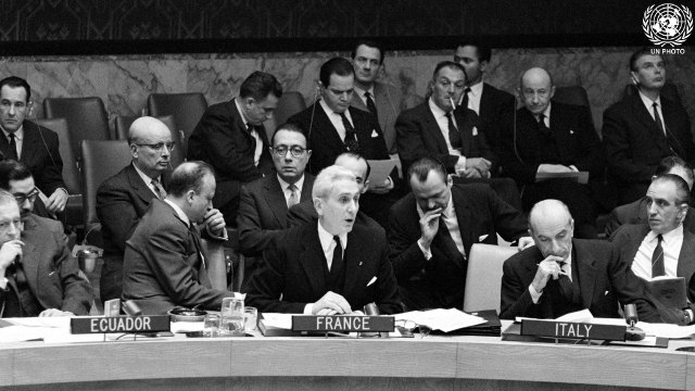 911th Meeting of Security Council