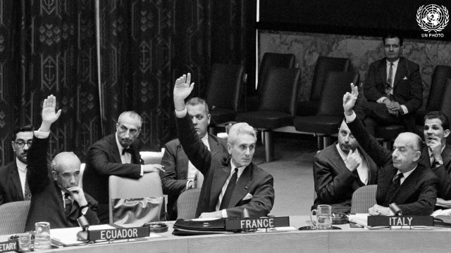 870th Meeting of Security Council