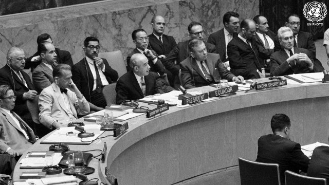 871st Meeting of Security Council
