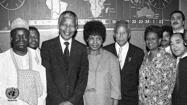 Nelson and Winnie Mandela's Corner Naming Ceremony