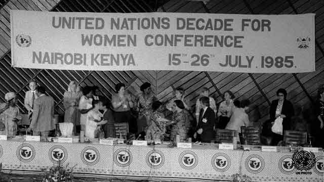 Women at the United Nations 1945 to 1995 Part 2