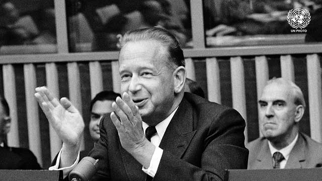 Dag Hammarskjöld on UN Day