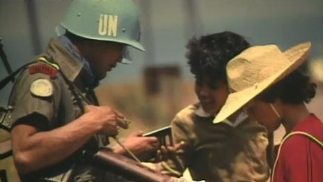 About the United Nations: Peacekeeping and Peacemaking