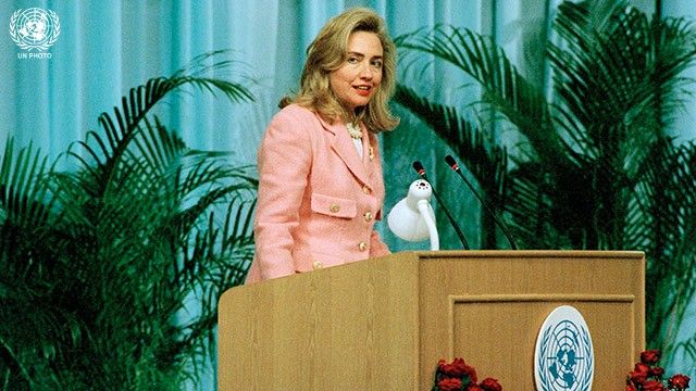Fourth World Conference on Women: Address by Hillary Rodham Clinton