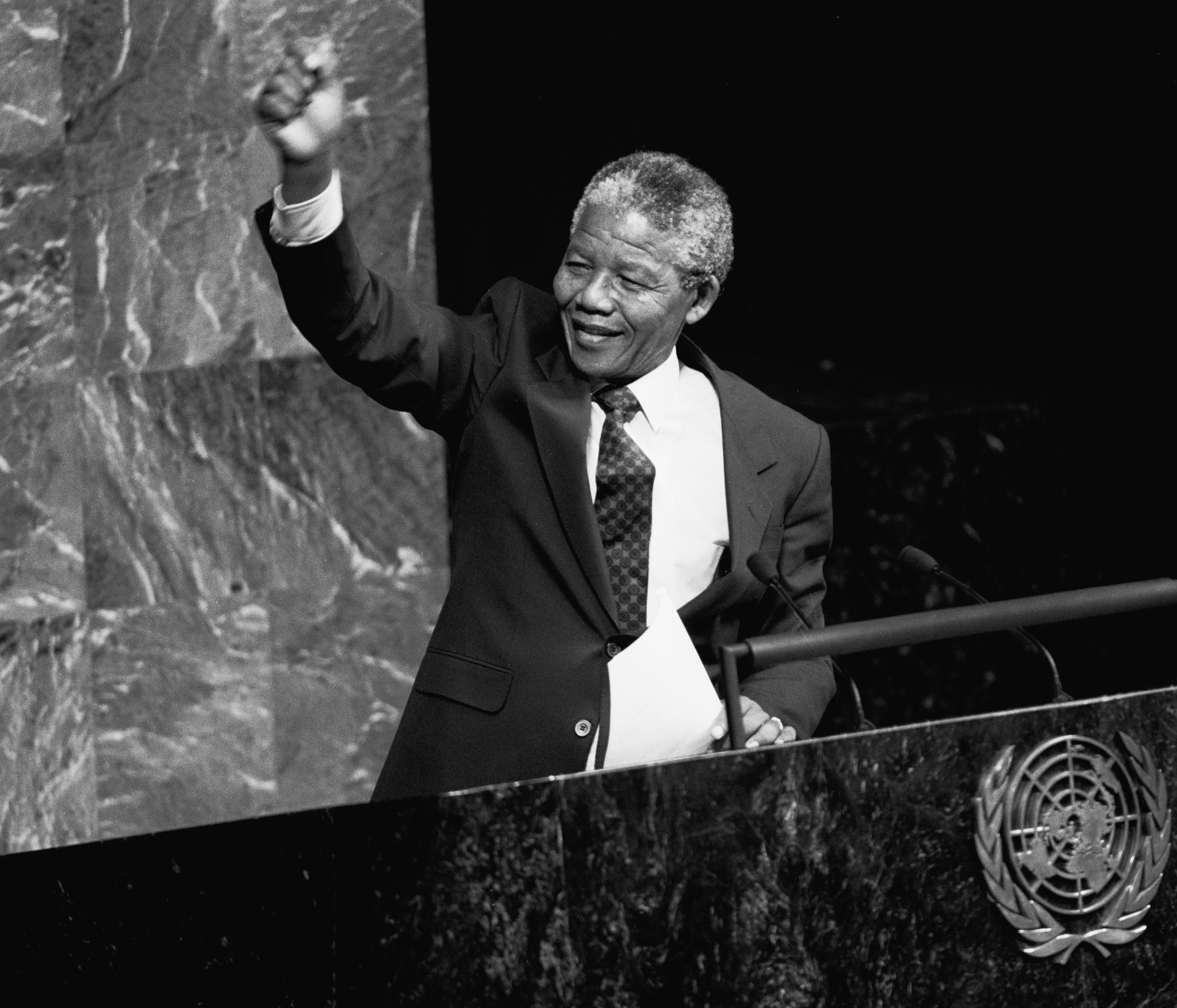 Nelson Mandela Addresses General Assembly