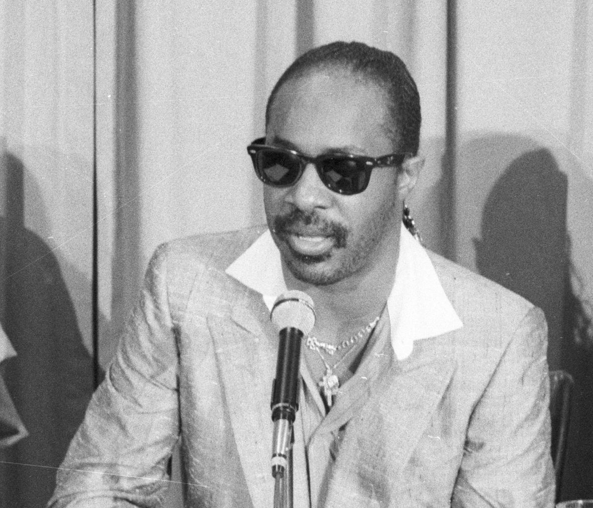 Stevie Wonder Press Conference