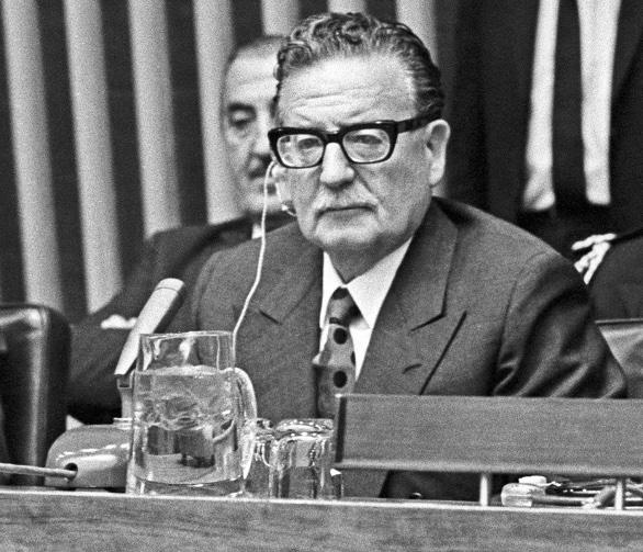 Salvador Allende Press Conference