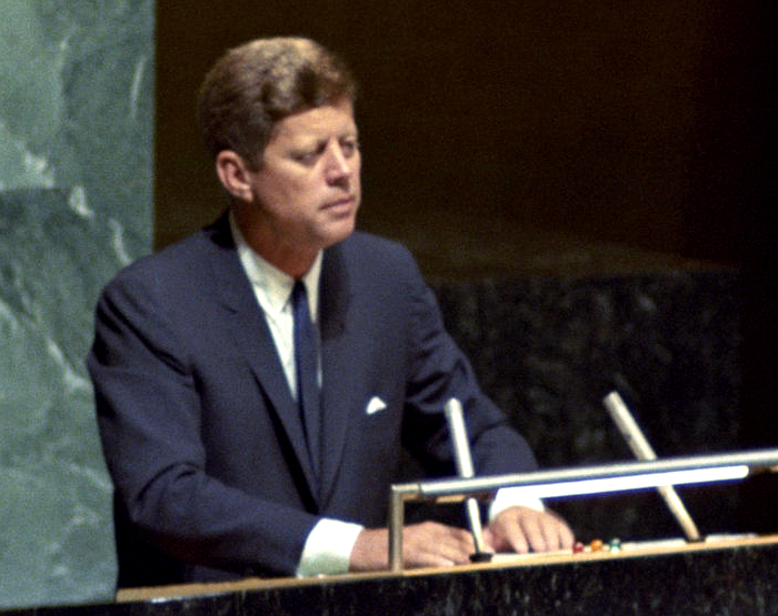 JFK at the United Nations