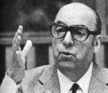 Nobel Laureate Pablo Neruda Recites His Poems