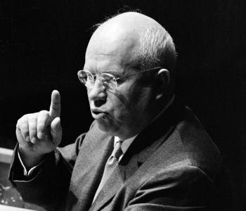 Nikita Khrushchev Urges End to Colonialism