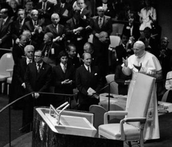 Pope John Paul II Addressing the General Assembly (Part 1)