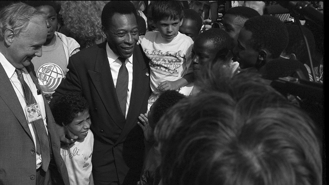 Press Conference by Pelé